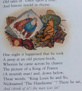 Pooh and King of France
