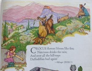 ancient crocus poem