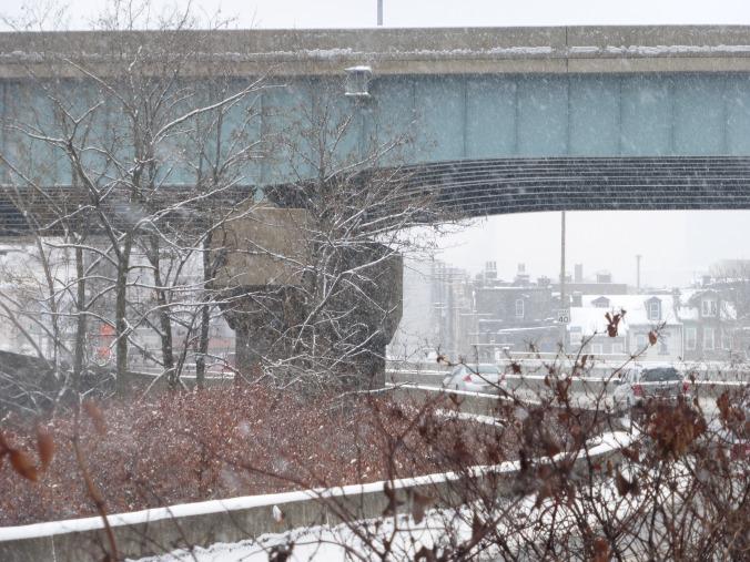 Uptown under bridge